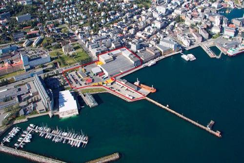 Mack- kvartalet i Tromsø.