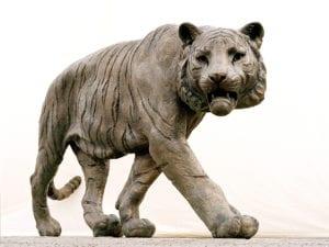 Tigerstatuen