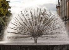 Påfugl fontenen
