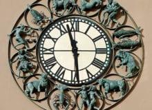 I 2010 ble Oslos nye astrologiske ur innviet på Karl Johans gate 3