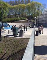 Nedre Foss park åpnet