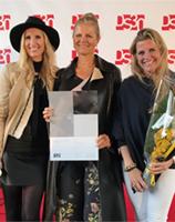 Metropolis vant 2. plass i Best Design Award for Eiendomsspars prosjekt inngangsparti