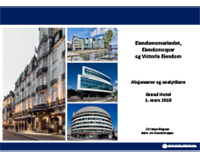 Aksjonærer og analytikere presentasjon Eiendomsspar og Victoria Eiendom 01.03.2018