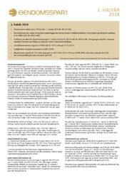 1. halvårsrapport 2018 for Eiendomsspar
