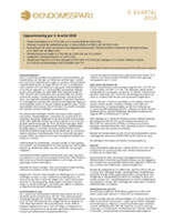 3. kvartalsrapport 2018 for Eiendomsspar