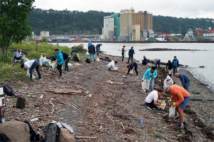 Eiendomsspar strandryddeaksjon CleanSounds