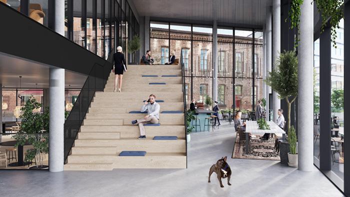 Høyskolen Kristiania skal leie i Urtekvartalet