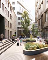 Høyskolen Kristiania utvider leieavtalen i Urtekvartalet