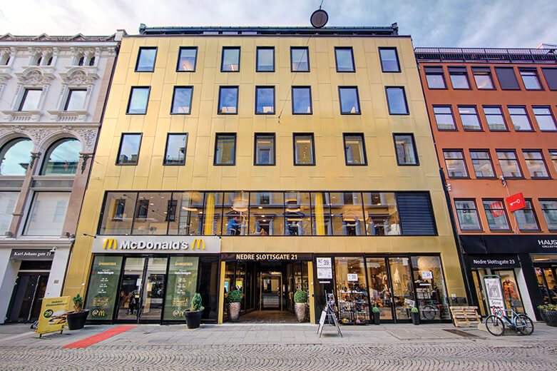 Eiendomsspar Nedre Slottsgate 21 Oslo