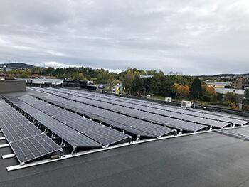 Solcellepanel Strømsveien 258 Eiendomsspar