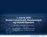 Aksjonærer og analytiker presentasjon 20.08.2020 Eiendomsspar Victoria Eiendom