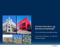 Presentasjon fra generalforsamling 2021 for Victoria Eiendom
